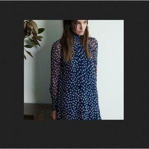 Lisette Iman Printed Chiffon Dress by Velvet GS